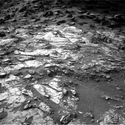 Nasa's Mars rover Curiosity acquired this image using its Right Navigation Camera on Sol 1454, at drive 2392, site number 57