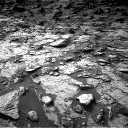 Nasa's Mars rover Curiosity acquired this image using its Right Navigation Camera on Sol 1454, at drive 2410, site number 57