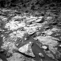 Nasa's Mars rover Curiosity acquired this image using its Right Navigation Camera on Sol 1454, at drive 2416, site number 57