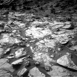 Nasa's Mars rover Curiosity acquired this image using its Right Navigation Camera on Sol 1454, at drive 2422, site number 57