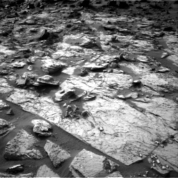 Nasa's Mars rover Curiosity acquired this image using its Right Navigation Camera on Sol 1454, at drive 2440, site number 57