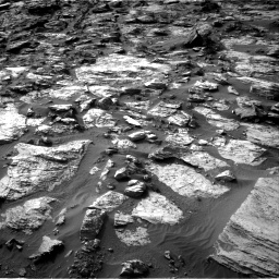 Nasa's Mars rover Curiosity acquired this image using its Right Navigation Camera on Sol 1454, at drive 2458, site number 57