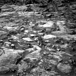 Nasa's Mars rover Curiosity acquired this image using its Right Navigation Camera on Sol 1454, at drive 2482, site number 57