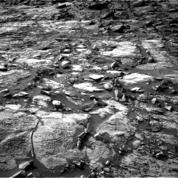 Nasa's Mars rover Curiosity acquired this image using its Right Navigation Camera on Sol 1454, at drive 2488, site number 57