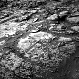 Nasa's Mars rover Curiosity acquired this image using its Right Navigation Camera on Sol 1454, at drive 2512, site number 57