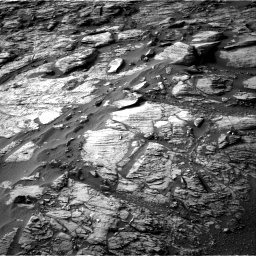 Nasa's Mars rover Curiosity acquired this image using its Right Navigation Camera on Sol 1454, at drive 2518, site number 57