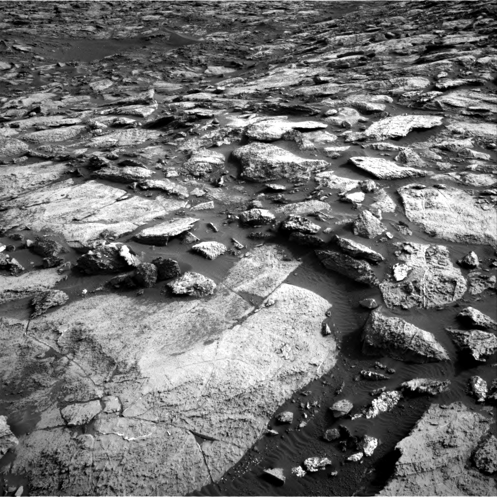 Nasa's Mars rover Curiosity acquired this image using its Right Navigation Camera on Sol 1454, at drive 2542, site number 57