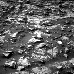 Nasa's Mars rover Curiosity acquired this image using its Right Navigation Camera on Sol 1454, at drive 2554, site number 57