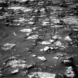 Nasa's Mars rover Curiosity acquired this image using its Right Navigation Camera on Sol 1454, at drive 2572, site number 57