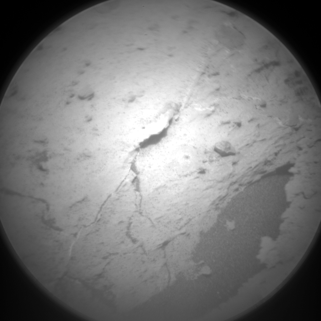 Nasa's Mars rover Curiosity acquired this image using its Chemistry & Camera (ChemCam) on Sol 1455, at drive 2582, site number 57