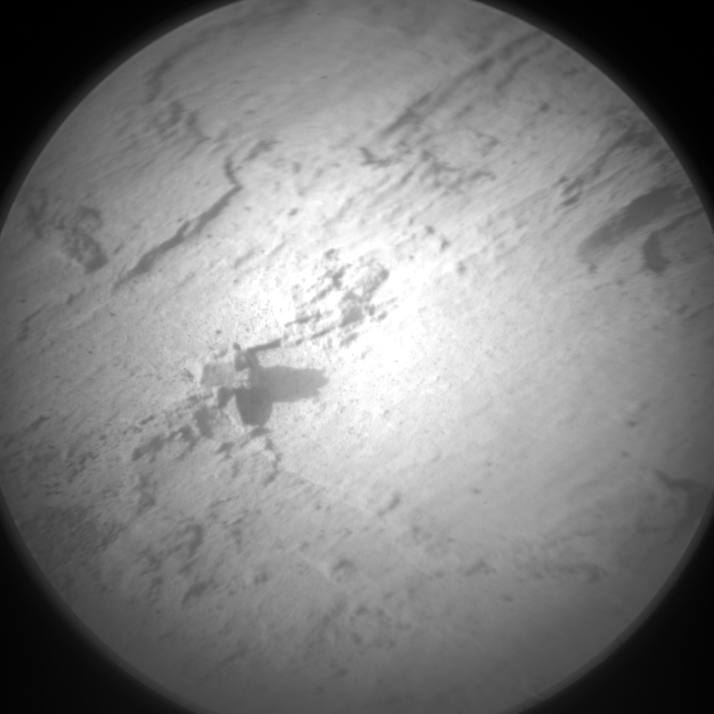 Nasa's Mars rover Curiosity acquired this image using its Chemistry & Camera (ChemCam) on Sol 1455, at drive 2798, site number 57