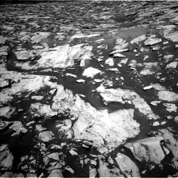 Nasa's Mars rover Curiosity acquired this image using its Left Navigation Camera on Sol 1455, at drive 2666, site number 57