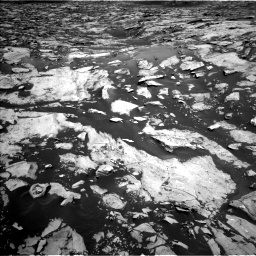Nasa's Mars rover Curiosity acquired this image using its Left Navigation Camera on Sol 1455, at drive 2672, site number 57