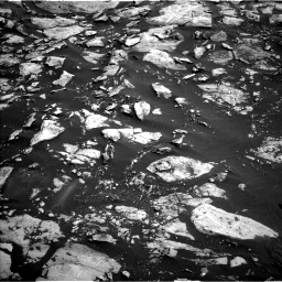 Nasa's Mars rover Curiosity acquired this image using its Left Navigation Camera on Sol 1455, at drive 2684, site number 57
