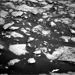 Nasa's Mars rover Curiosity acquired this image using its Left Navigation Camera on Sol 1455, at drive 2708, site number 57