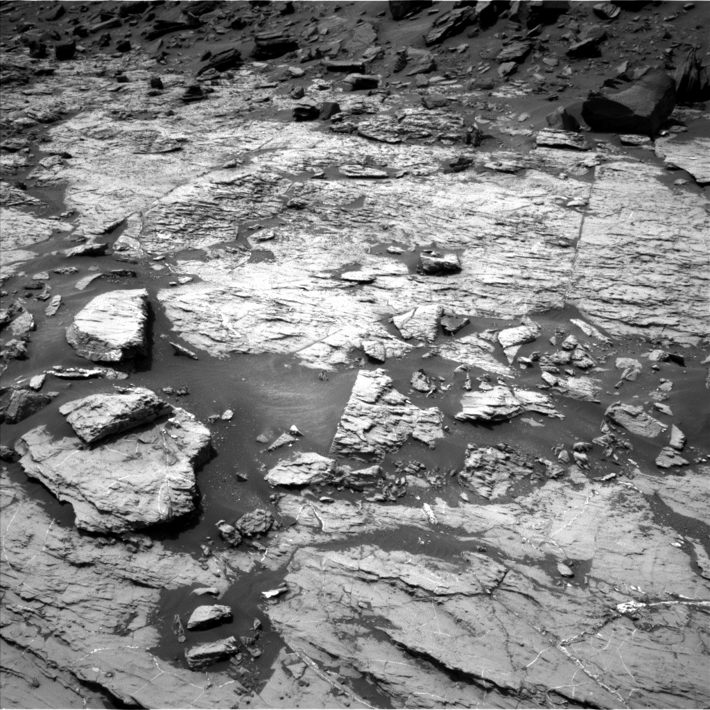 Nasa's Mars rover Curiosity acquired this image using its Left Navigation Camera on Sol 1455, at drive 2762, site number 57