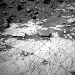 Nasa's Mars rover Curiosity acquired this image using its Left Navigation Camera on Sol 1455, at drive 2792, site number 57