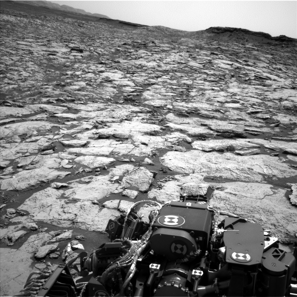 Nasa's Mars rover Curiosity acquired this image using its Left Navigation Camera on Sol 1455, at drive 2798, site number 57