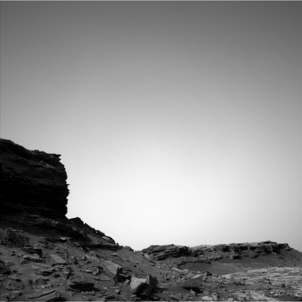 NASA's Mars rover Curiosity acquired this image using its Left Navigation Camera (Navcams) on Sol 1455