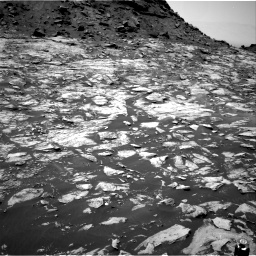 Nasa's Mars rover Curiosity acquired this image using its Right Navigation Camera on Sol 1455, at drive 2594, site number 57