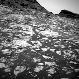 Nasa's Mars rover Curiosity acquired this image using its Right Navigation Camera on Sol 1455, at drive 2630, site number 57