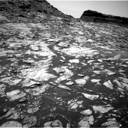 Nasa's Mars rover Curiosity acquired this image using its Right Navigation Camera on Sol 1455, at drive 2636, site number 57