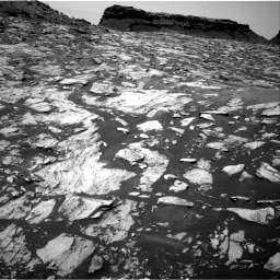 Nasa's Mars rover Curiosity acquired this image using its Right Navigation Camera on Sol 1455, at drive 2648, site number 57