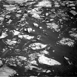 Nasa's Mars rover Curiosity acquired this image using its Right Navigation Camera on Sol 1455, at drive 2684, site number 57