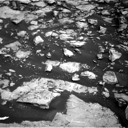 Nasa's Mars rover Curiosity acquired this image using its Right Navigation Camera on Sol 1455, at drive 2702, site number 57