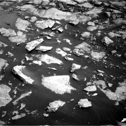 Nasa's Mars rover Curiosity acquired this image using its Right Navigation Camera on Sol 1455, at drive 2714, site number 57