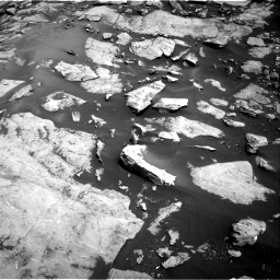 Nasa's Mars rover Curiosity acquired this image using its Right Navigation Camera on Sol 1455, at drive 2720, site number 57