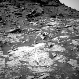 Nasa's Mars rover Curiosity acquired this image using its Right Navigation Camera on Sol 1455, at drive 2750, site number 57