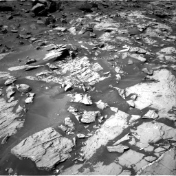 Nasa's Mars rover Curiosity acquired this image using its Right Navigation Camera on Sol 1455, at drive 2774, site number 57