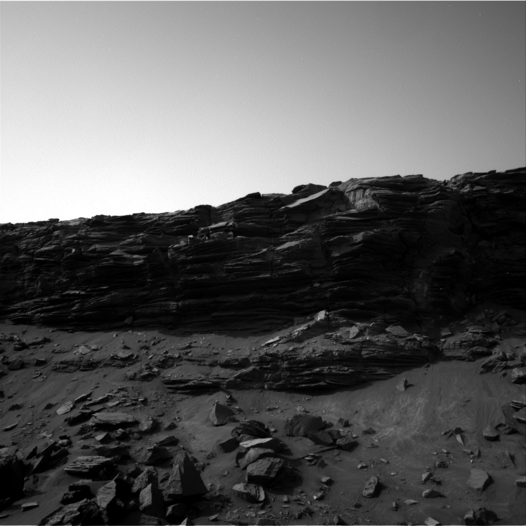 Nasa's Mars rover Curiosity acquired this image using its Right Navigation Camera on Sol 1455, at drive 2798, site number 57