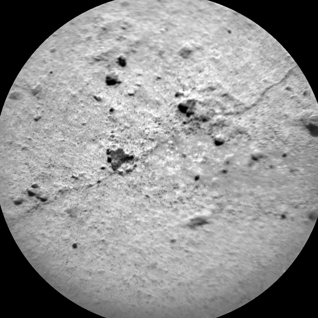 Nasa's Mars rover Curiosity acquired this image using its Chemistry & Camera (ChemCam) on Sol 1456, at drive 2798, site number 57