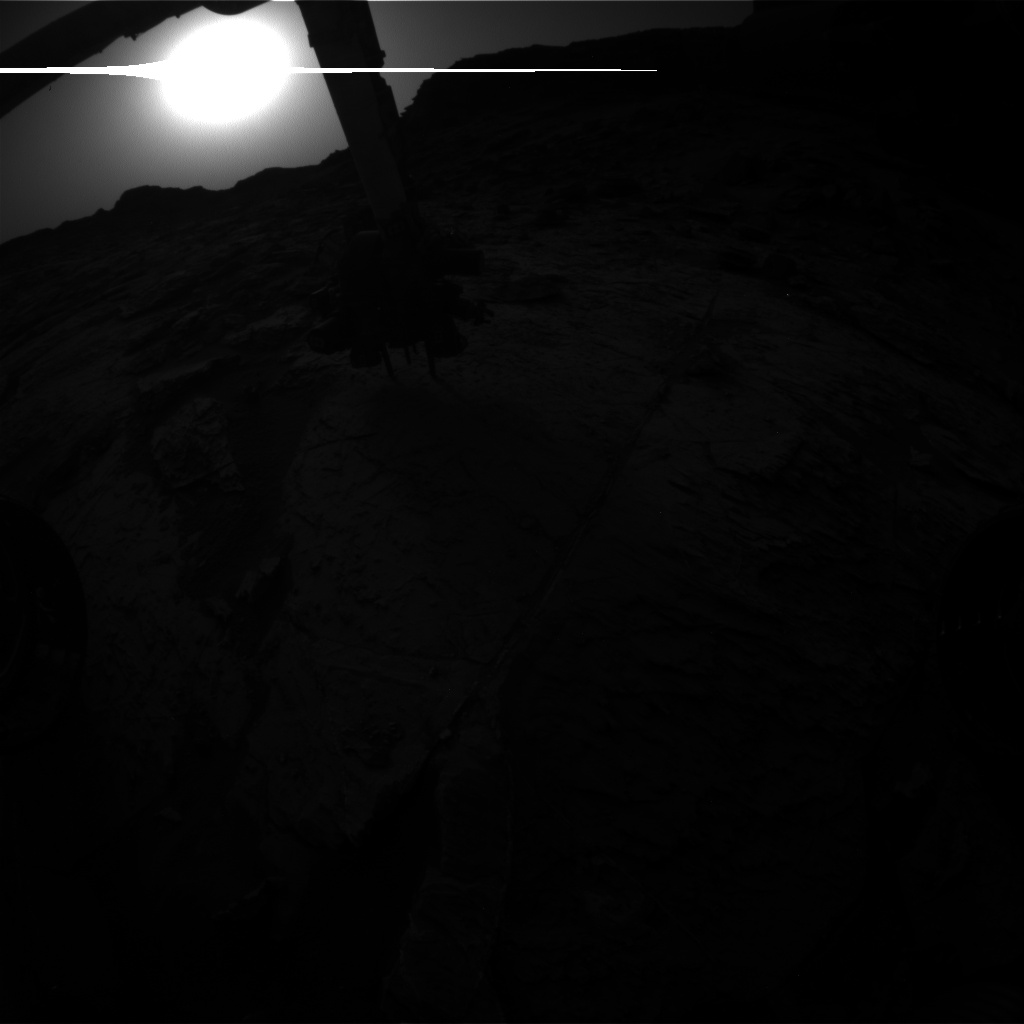 Nasa's Mars rover Curiosity acquired this image using its Front Hazard Avoidance Camera (Front Hazcam) on Sol 1457, at drive 2798, site number 57