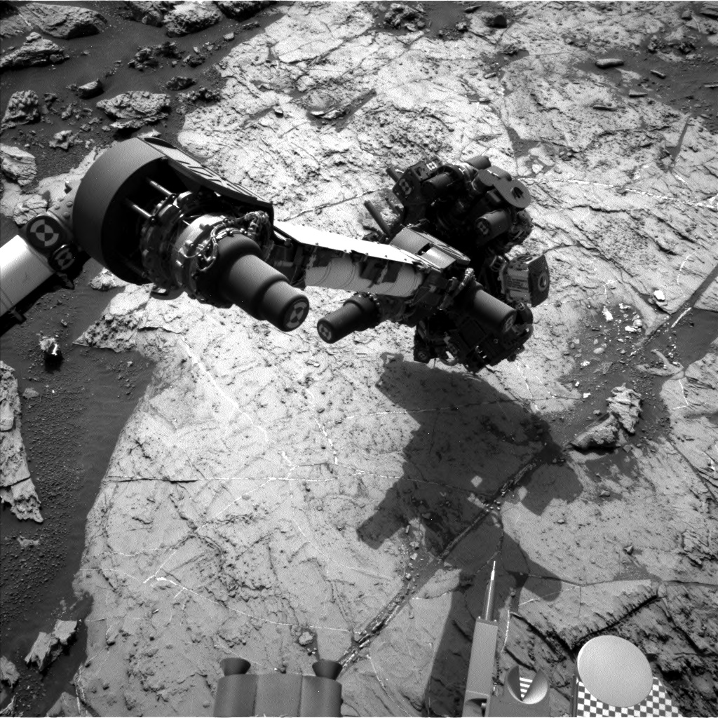 Nasa's Mars rover Curiosity acquired this image using its Left Navigation Camera on Sol 1457, at drive 2798, site number 57