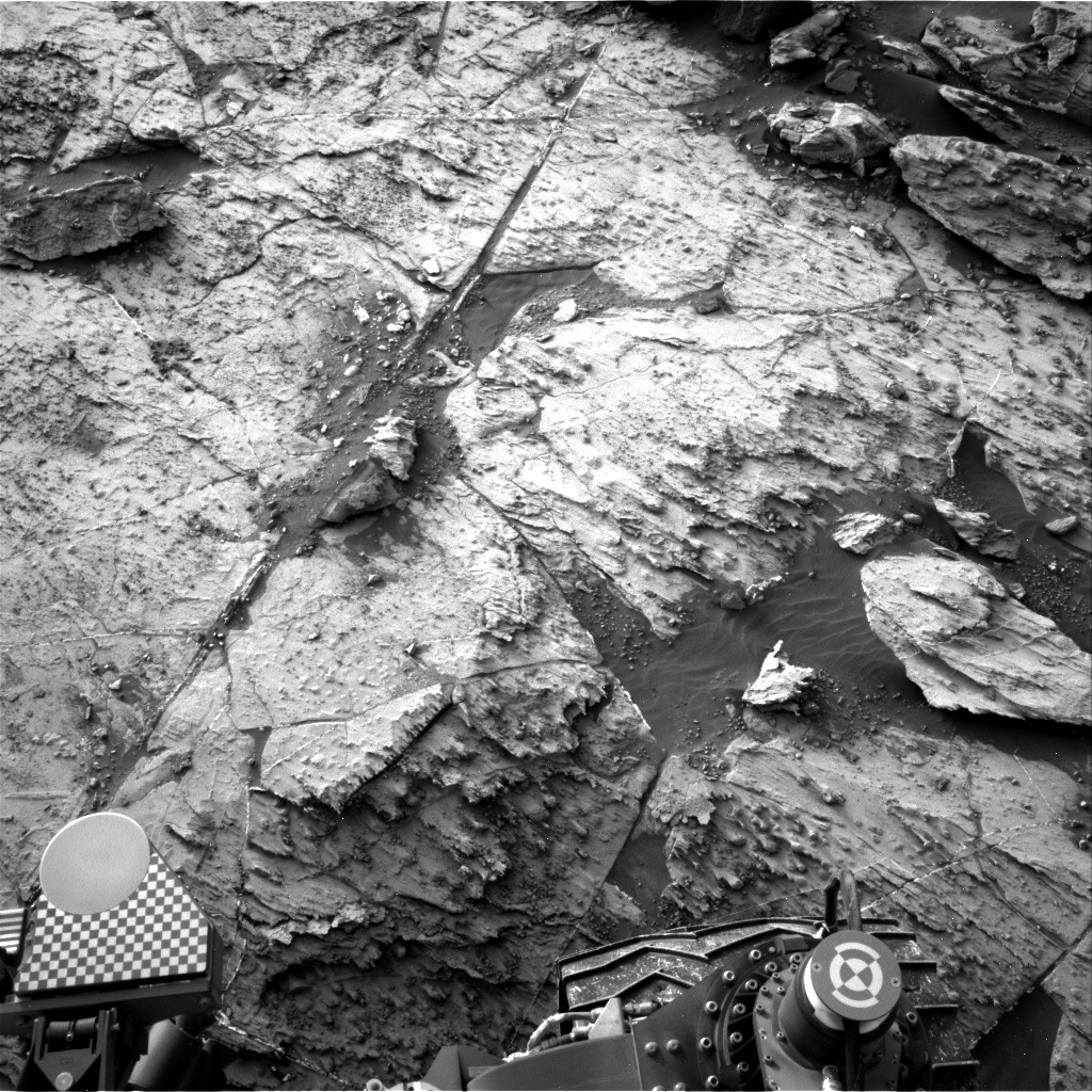 Nasa's Mars rover Curiosity acquired this image using its Right Navigation Camera on Sol 1457, at drive 2798, site number 57