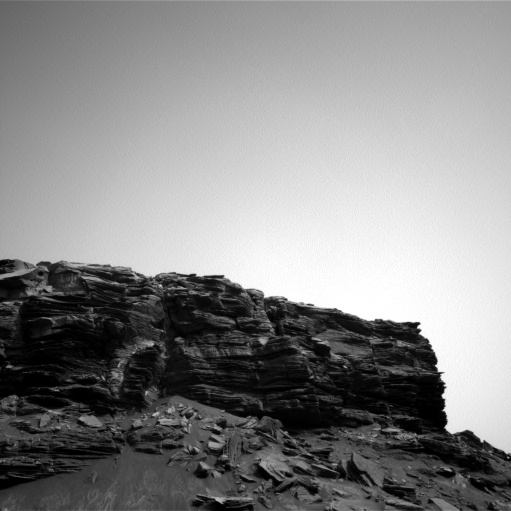 Nasa's Mars rover Curiosity acquired this image using its Left Navigation Camera on Sol 1458, at drive 2798, site number 57