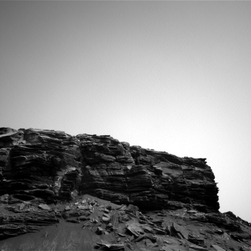 NASA's Mars rover Curiosity acquired this image using its Left Navigation Camera (Navcams) on Sol 1458