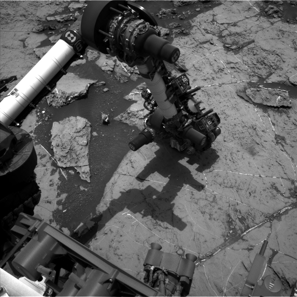 Nasa's Mars rover Curiosity acquired this image using its Left Navigation Camera on Sol 1459, at drive 2798, site number 57