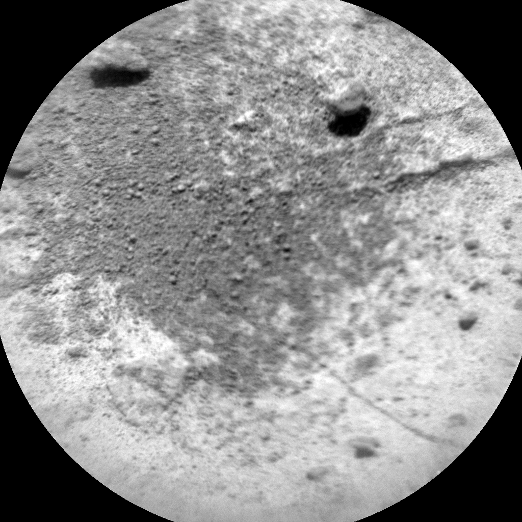 Nasa's Mars rover Curiosity acquired this image using its Chemistry & Camera (ChemCam) on Sol 1459, at drive 2798, site number 57