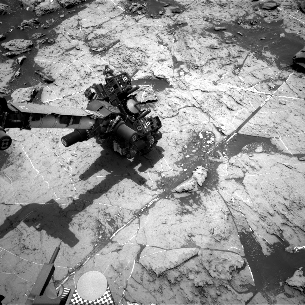 Nasa's Mars rover Curiosity acquired this image using its Right Navigation Camera on Sol 1460, at drive 2798, site number 57