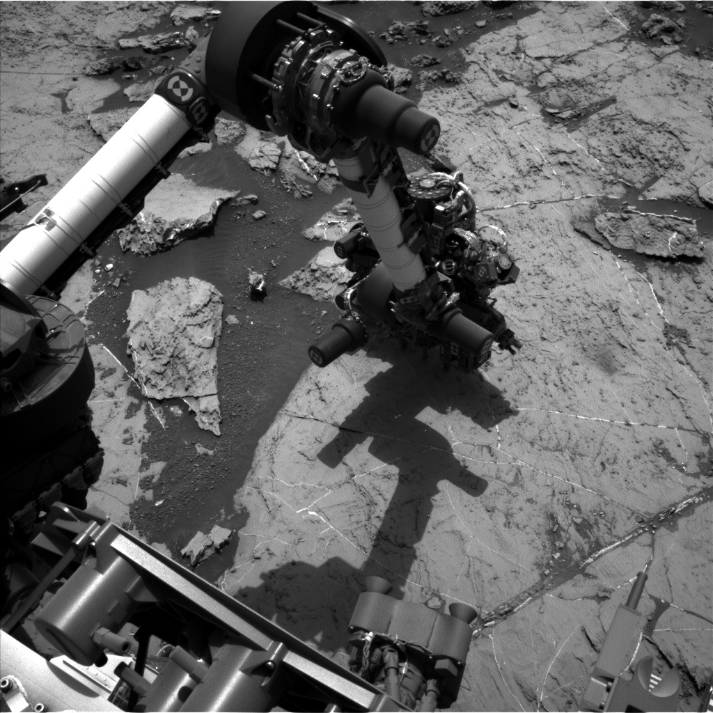 NASA's Mars rover Curiosity acquired this image using its Left Navigation Camera (Navcams) on Sol 1461