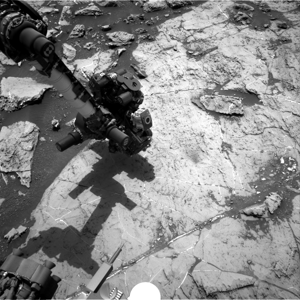 Nasa's Mars rover Curiosity acquired this image using its Right Navigation Camera on Sol 1461, at drive 2798, site number 57