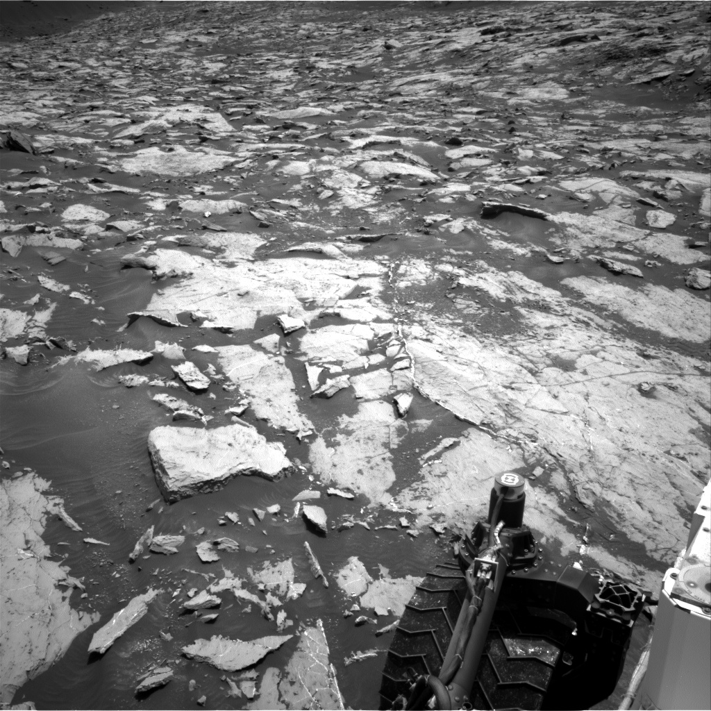 Nasa's Mars rover Curiosity acquired this image using its Right Navigation Camera on Sol 1462, at drive 2798, site number 57