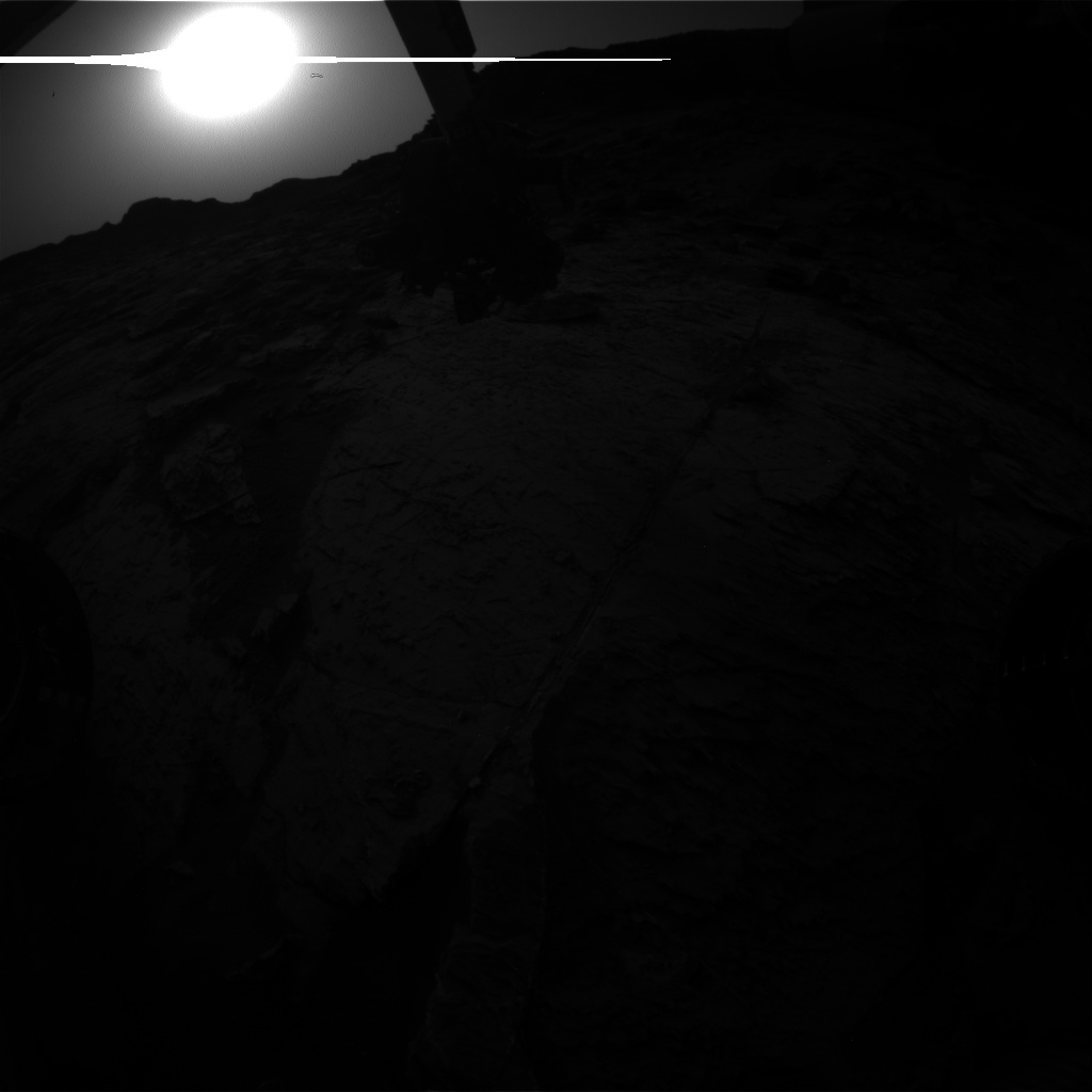 Nasa's Mars rover Curiosity acquired this image using its Front Hazard Avoidance Camera (Front Hazcam) on Sol 1463, at drive 2798, site number 57