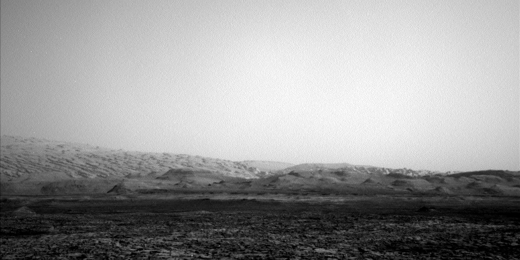 Nasa's Mars rover Curiosity acquired this image using its Left Navigation Camera on Sol 1463, at drive 2798, site number 57
