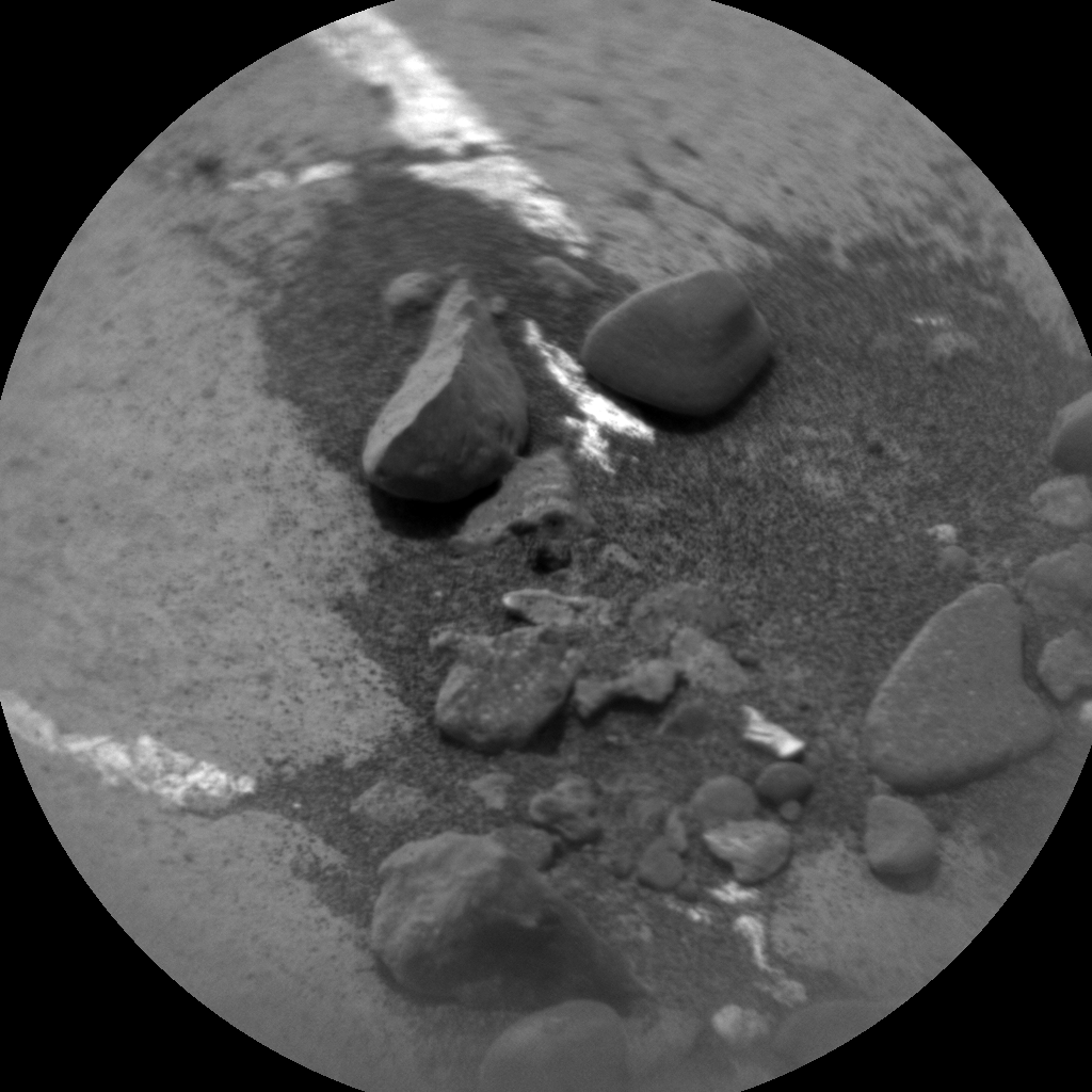 Nasa's Mars rover Curiosity acquired this image using its Chemistry & Camera (ChemCam) on Sol 1463, at drive 2798, site number 57