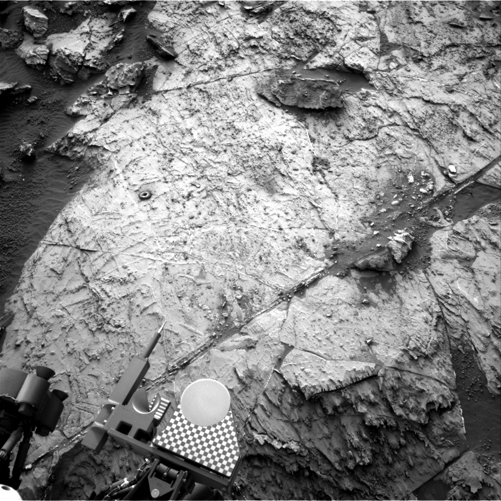 Nasa's Mars rover Curiosity acquired this image using its Right Navigation Camera on Sol 1464, at drive 2798, site number 57